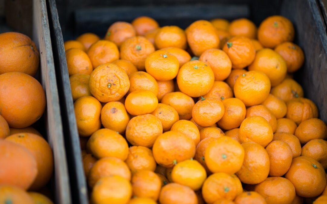 La mandarina en pro de la salud